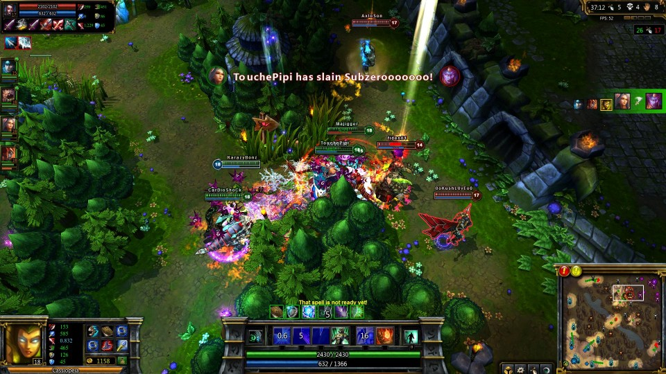 League of Legends MOBA